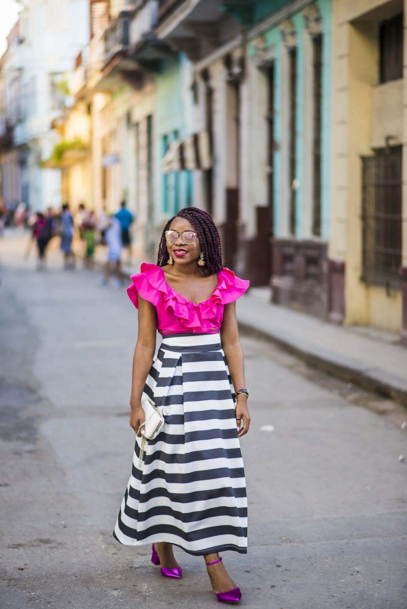 Street style in havana cuba titi 39 s passion Fashion style via antonio panizzi