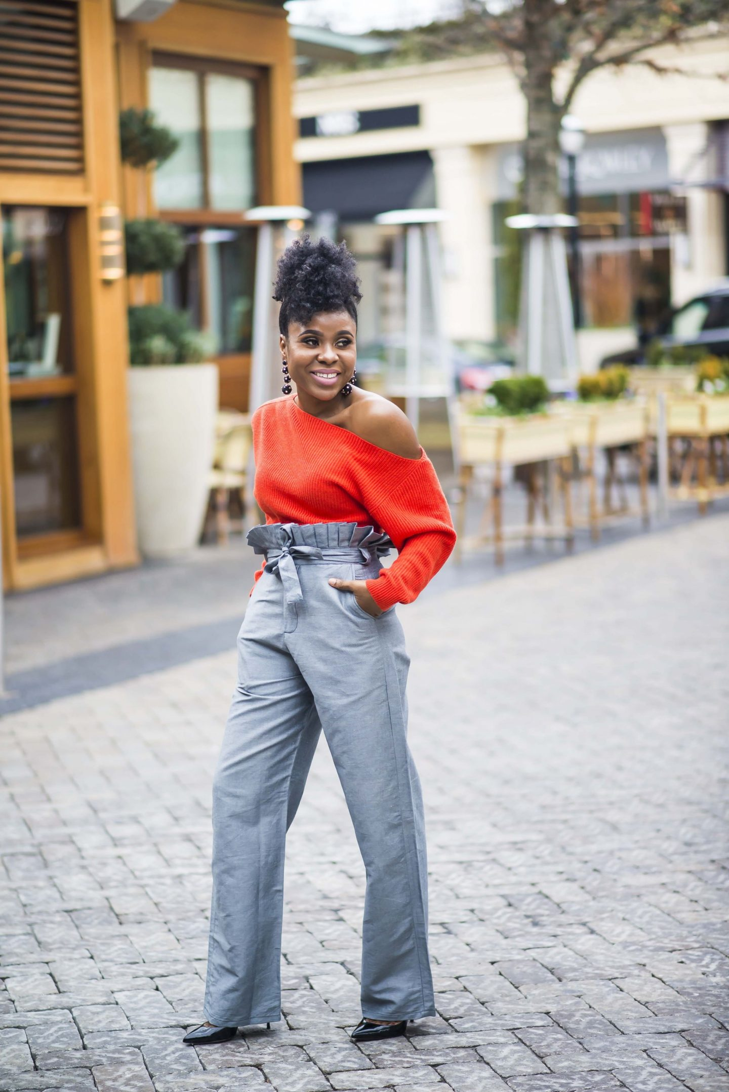 Fashion Trends: The Paperbag Pants featuring #WhatLamideWore x The 5k Shop