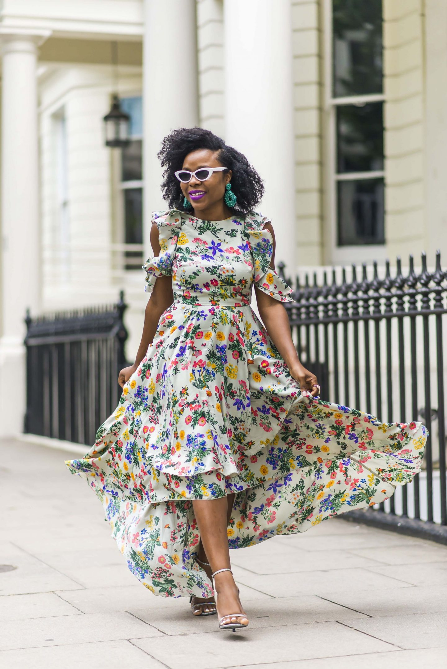 Summer Fashion: Floral Maxi Dress