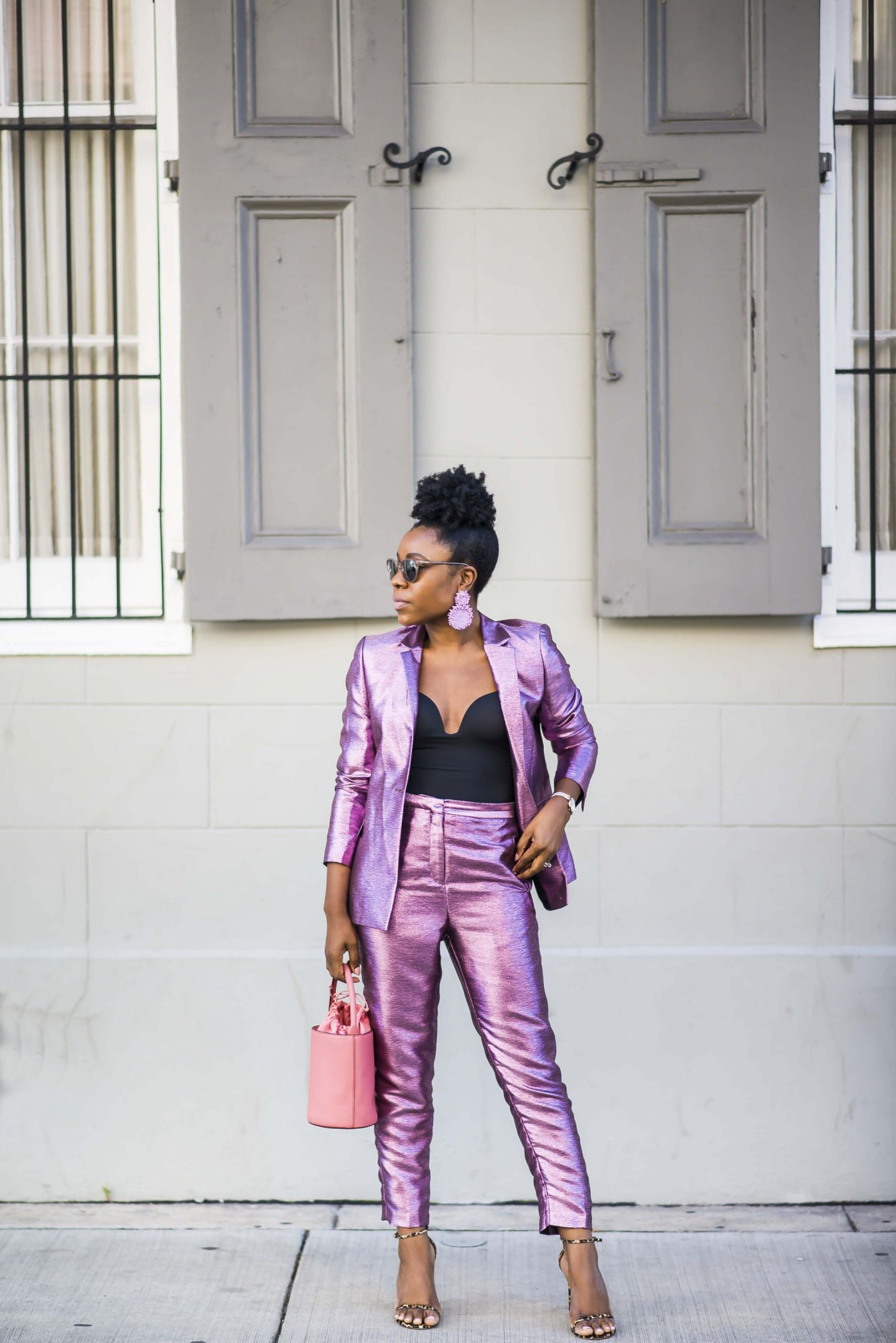 Metallic & bold colors for Fall and beyond