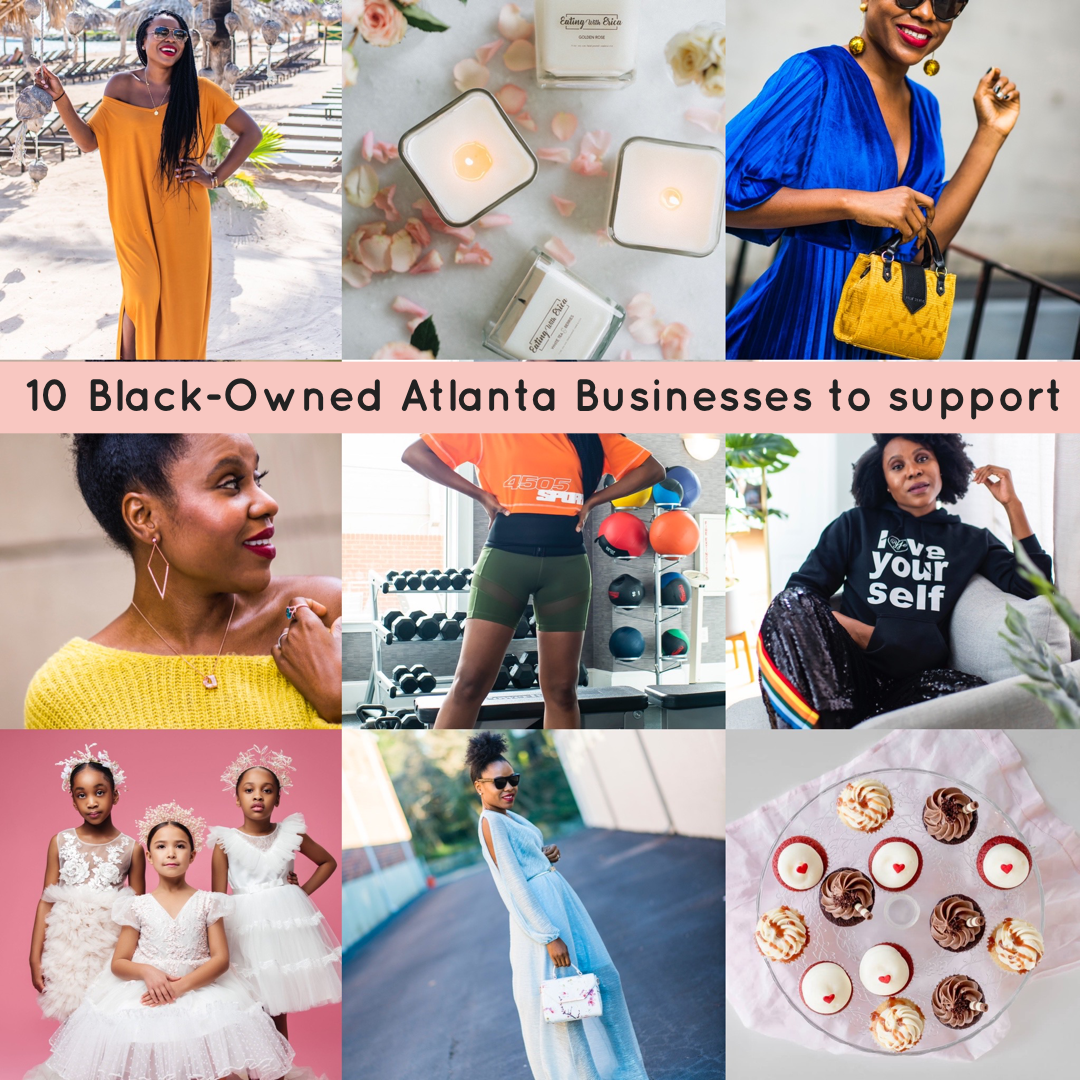 10 Atlanta Black-Owned Small Businesses  to support